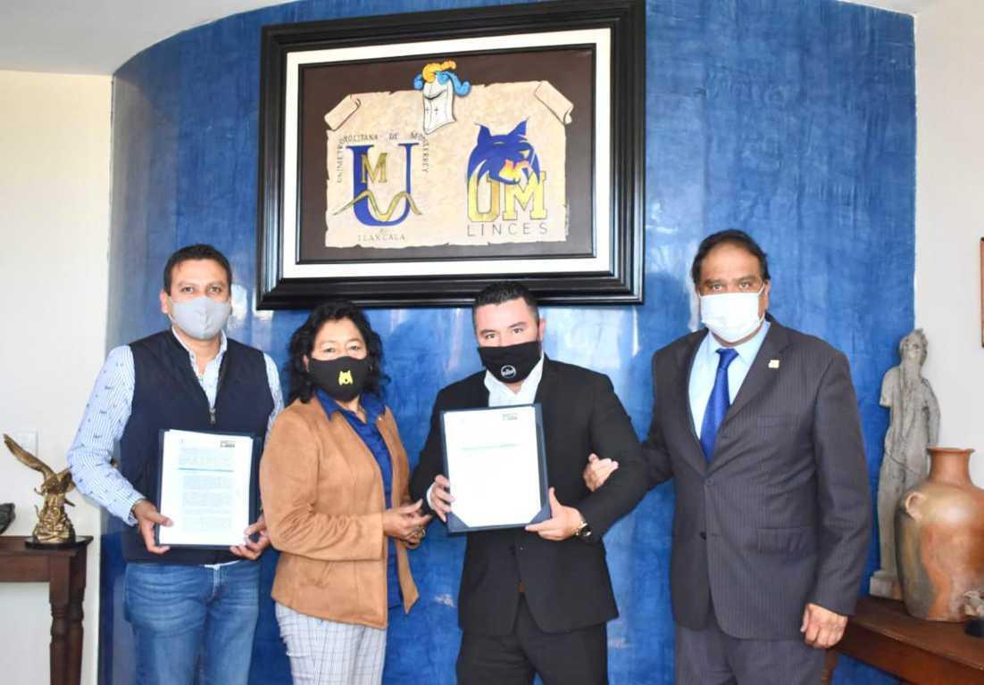 Fundación Unimetro-Nantli ITP firman convenio académico: Goyo Cervantes