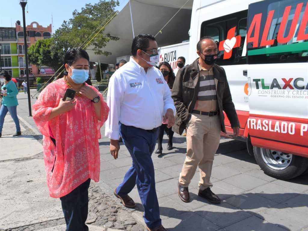 Zacatelco recibe a Ruta por tu salud 2020