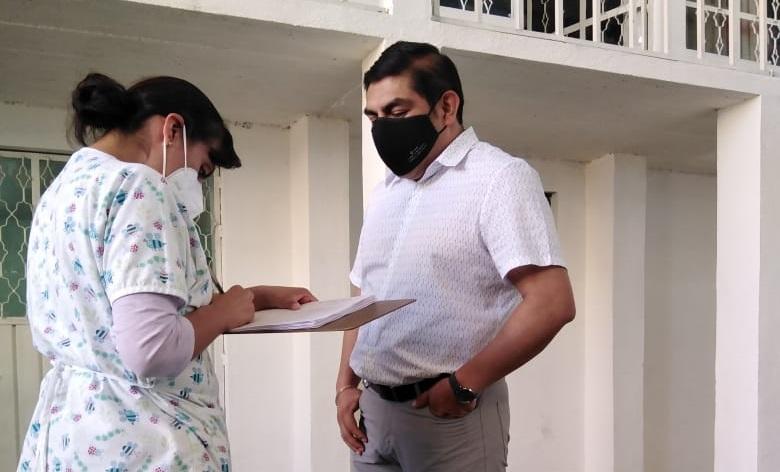 Alcalde y funcionarios del Ayuntamiento de Totolac se realizan la prueba del Covid – 19