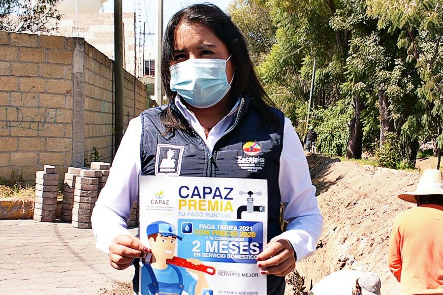 Capaz de Zacatelco anuncia cambios de tuberías en la sección tercera