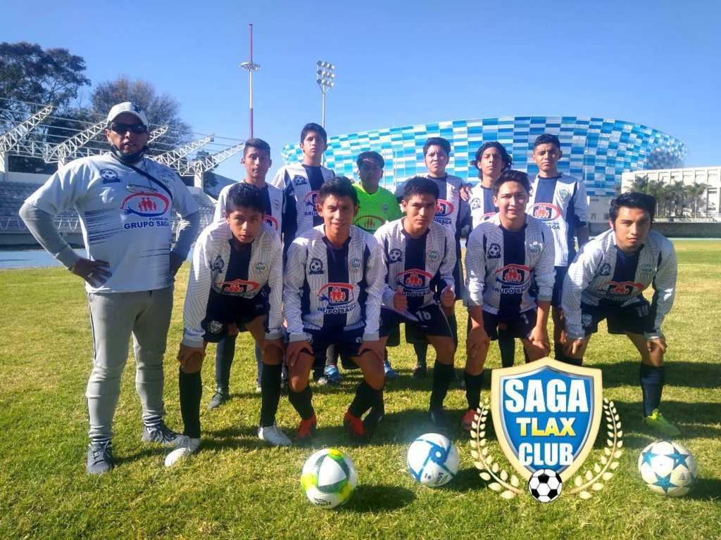 SAGA TLAX CLUB se enfila al liderato general de la cuarta división