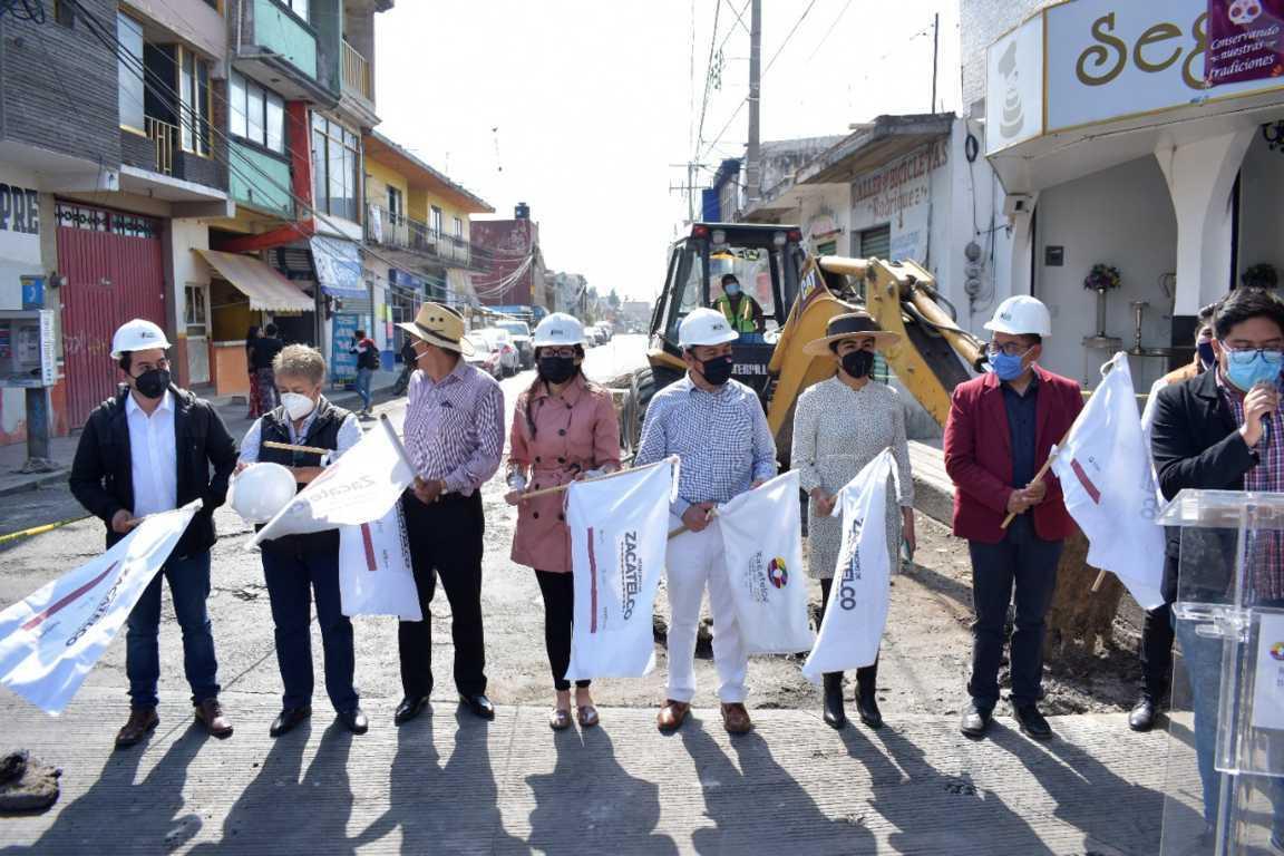 Ayuntamiento de Zacatelco continúa con obras ejecutadas de 11 Millones de pesos