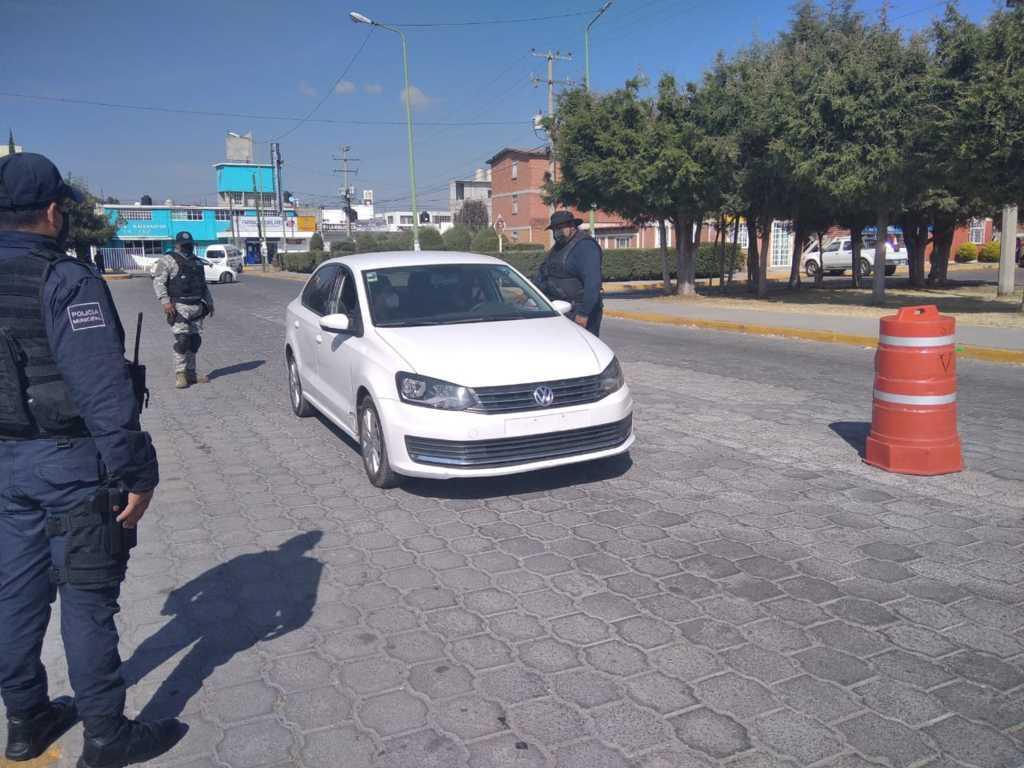 Inicia operativo Guadalupe – Reyes en Apizaco; redoblarán la seguridad en puntos estratégicos