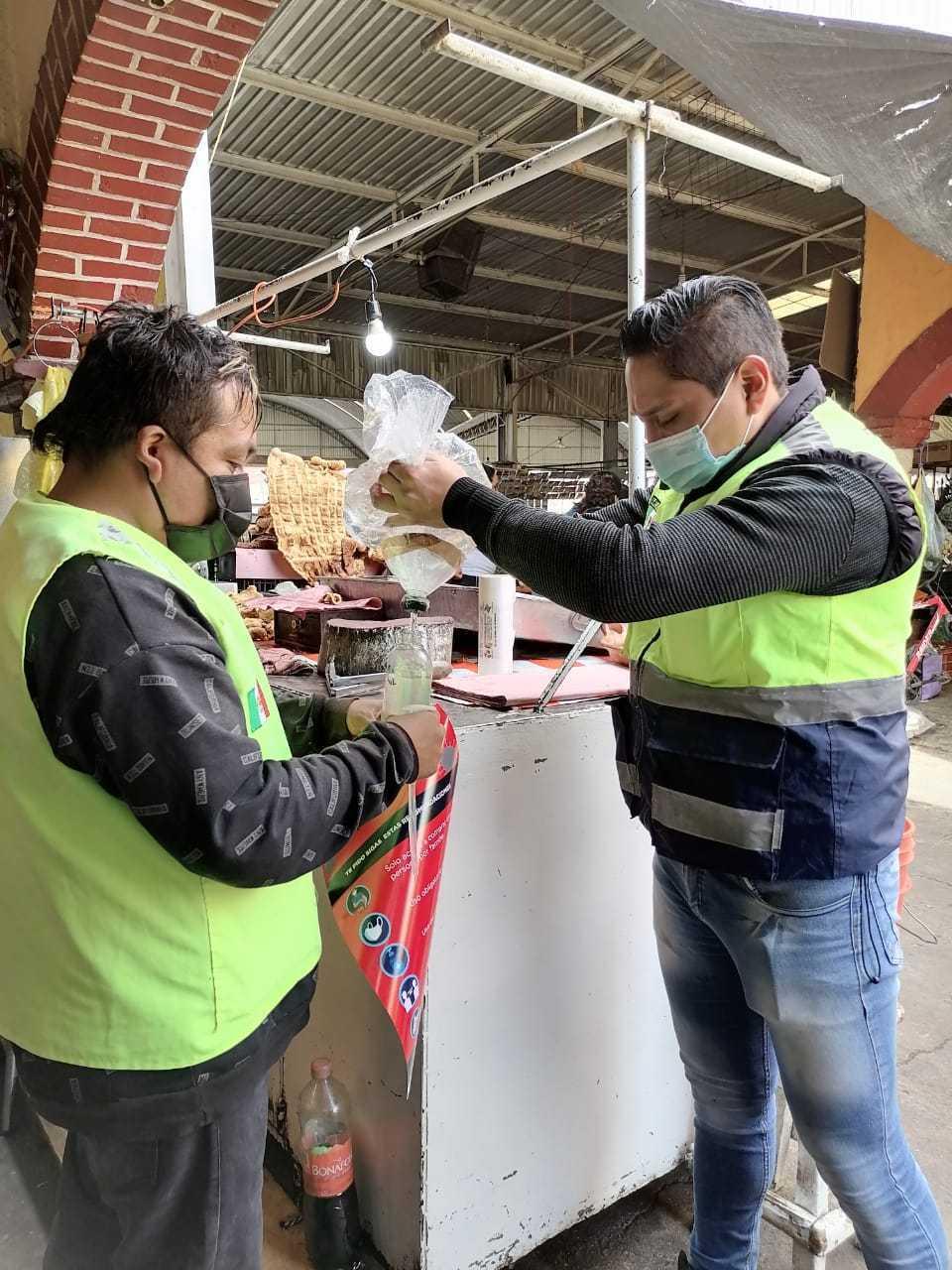 En Zacatelco refuerzan las medidas Sanitarias