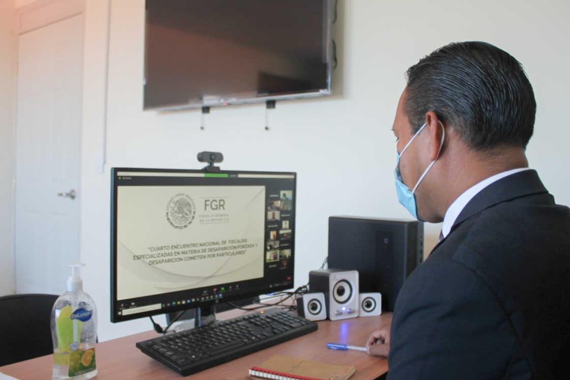 Participa PGJE en el Cuarto Encuentro De Fiscalías Especializadas En Materia De Desaparición Forzada