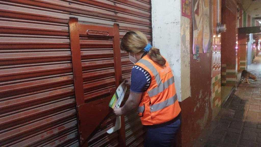 Continúan sanciones a comercios que no cumplan con horario por pandemia en Chiautempan