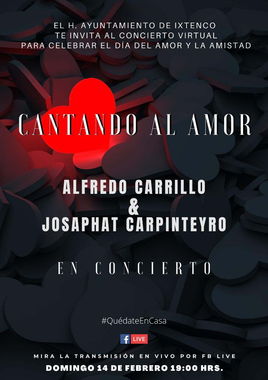 Con concierto virtual, Ixtenco celebrará el día del amor y la amistad