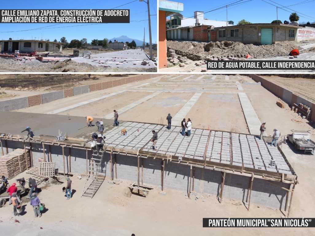 Ayuntamiento de Chiautempan cumple acuerdos con Muñoztla
