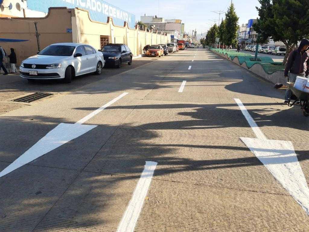 En Apizaco se balizaron 85 km anuales de espacios públicos