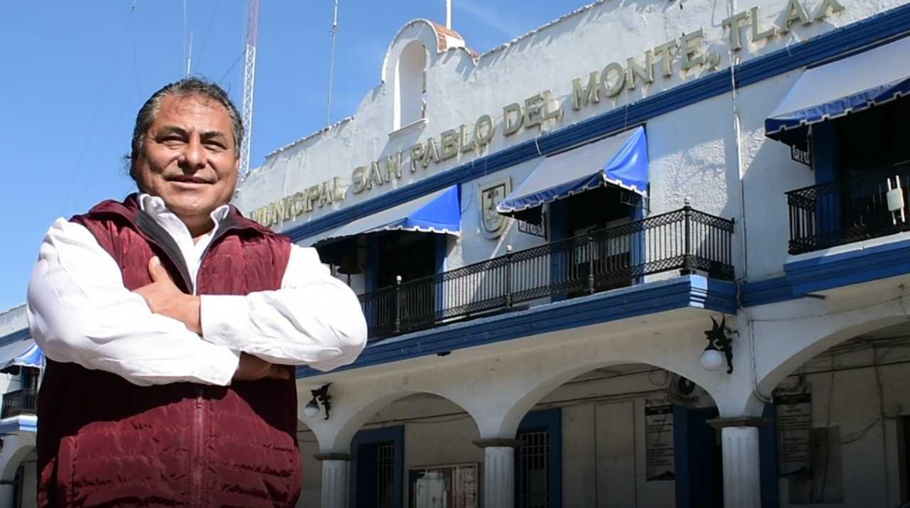 Carlos Piedras representa unidad y trabajo en San Pablo del Monte