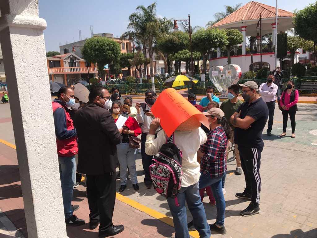 Ayuntamiento de Papalotla antepone el diálogo para solucionar inconformidades