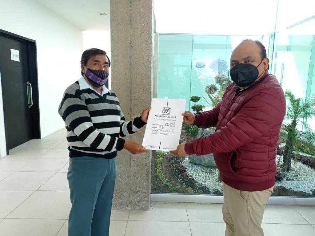 Culmina programa de escrituración en Ixtenco