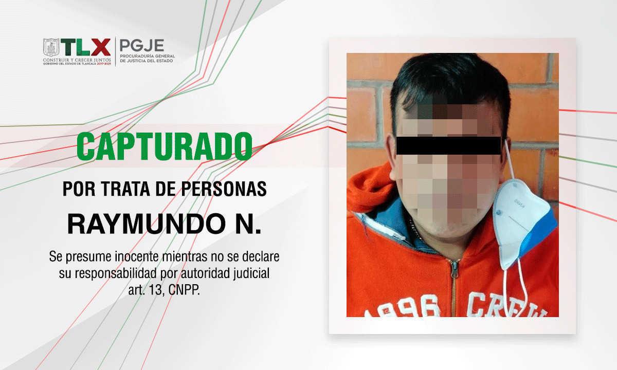 Capturan en Tlaxcala a tratante de personas que operaba en Puebla