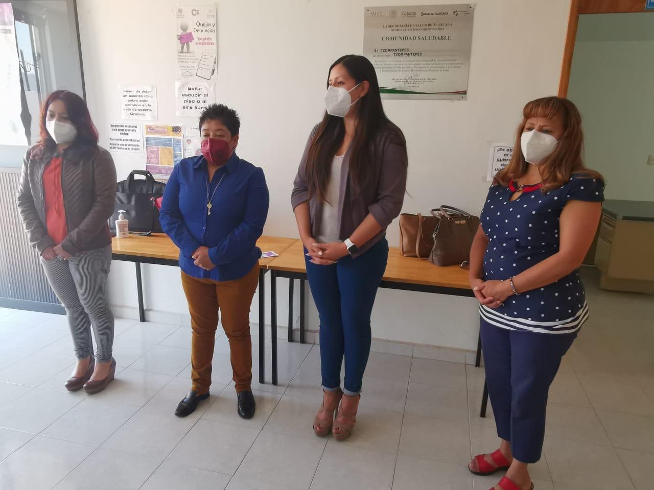 Montiel encabeza la inauguración del programa Red de Mujeres para Mujeres