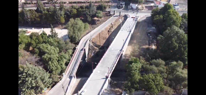 Inaugura Sanabria Chávez puente vehicular Guadalupe