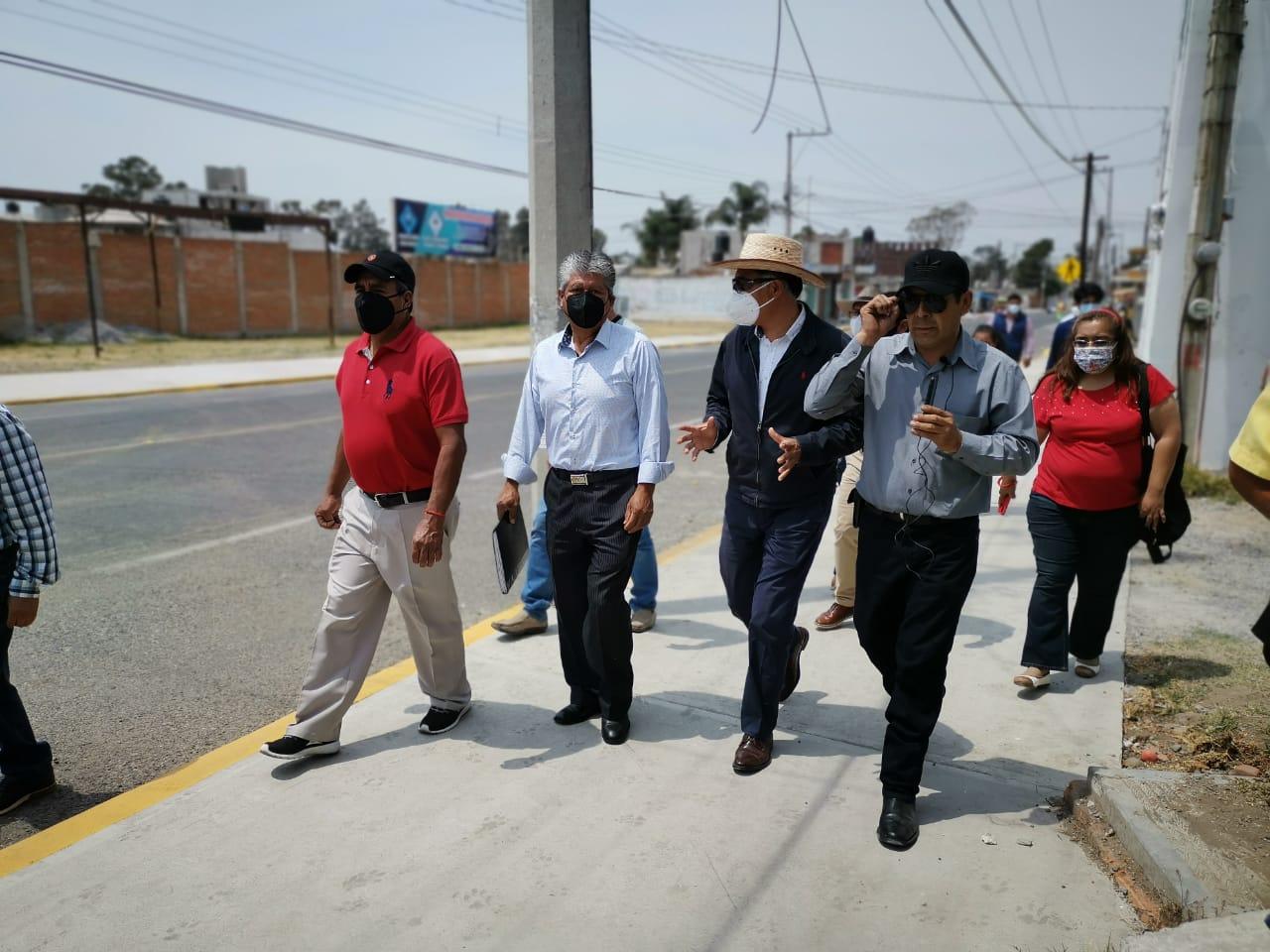 Jesús Herrera entrega obra en Avenida Industrias Oriente; beneficiará a dos comunidades