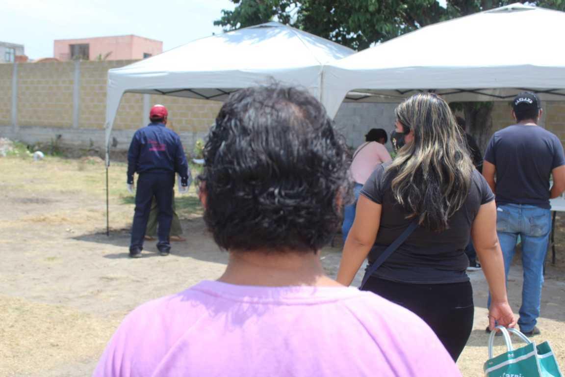 En Santa Cruz Tlaxcala sigue vigente el comedor comunitario Unidos Contra Covid 19