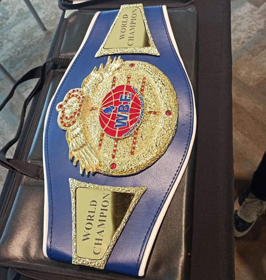 Tlaxcalteca va este sábado por el Campeonato Mundial de Boxeo (WBF)