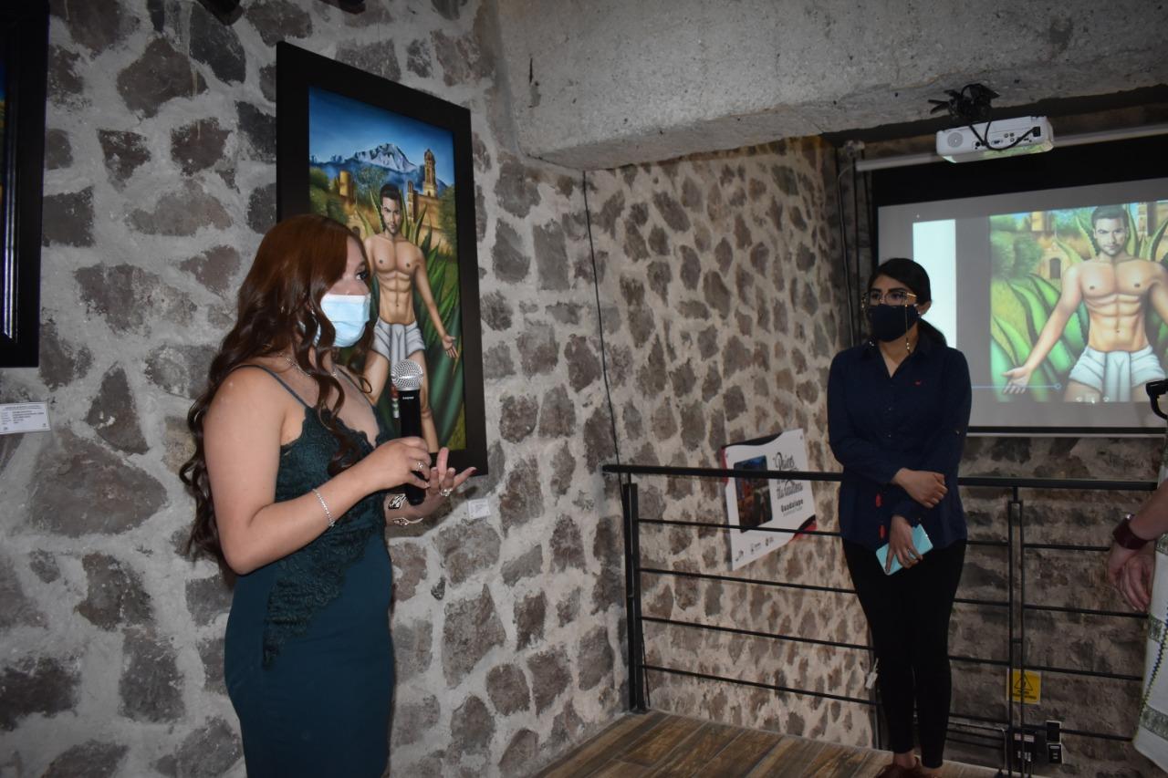 Destaca Guadalupe Xicohténcatl por magna pintura de Carlos Rivera