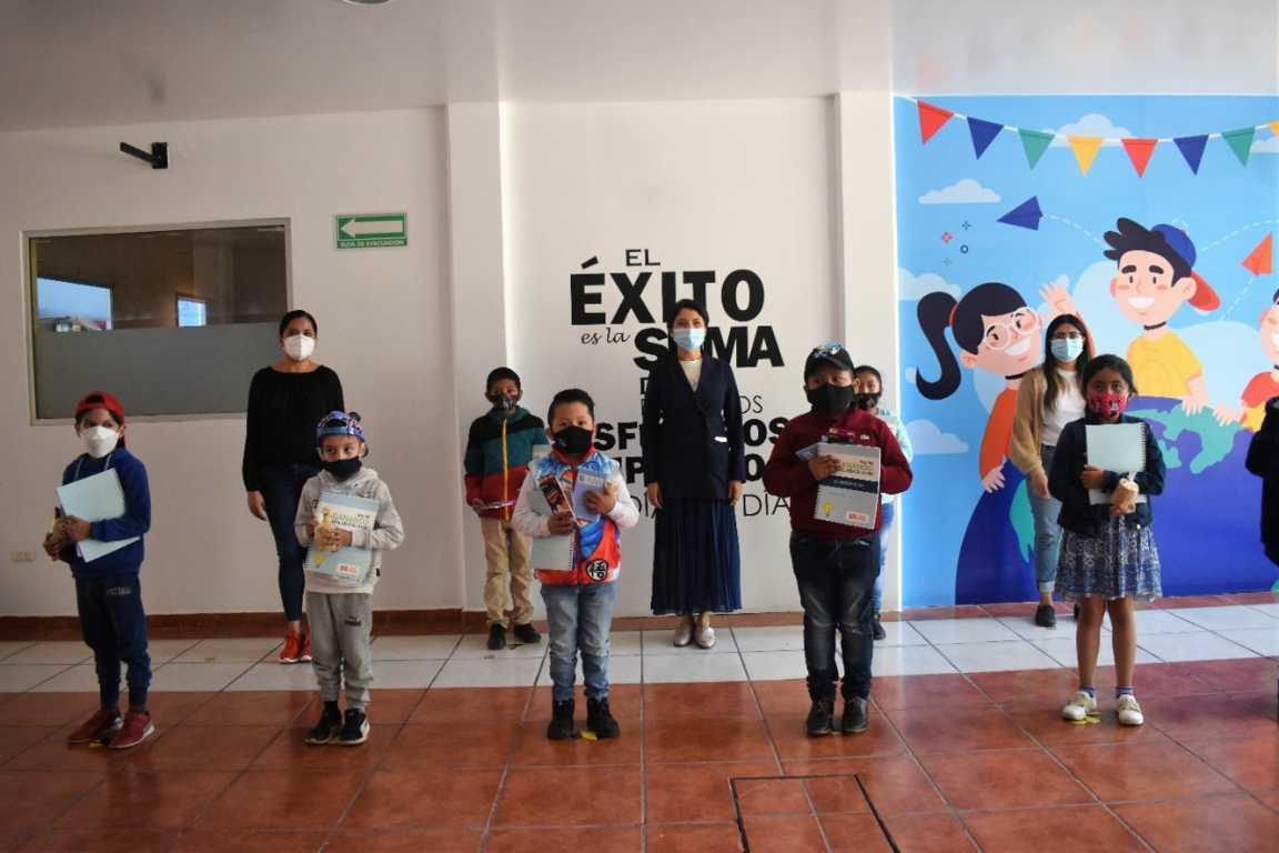 Imparten taller de espiritualidad a infantes de Zacatelco