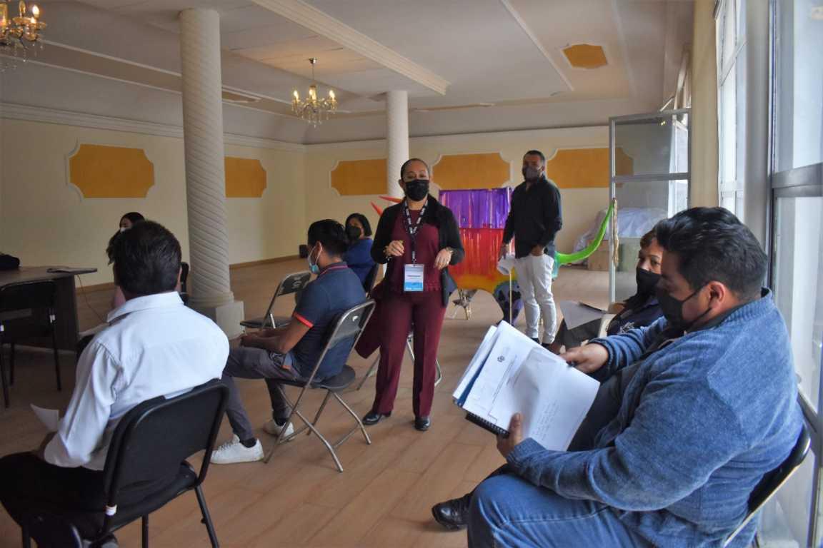 Capacitó INEGI sobre censo nacional de gobiernos municipales en Zacatelco