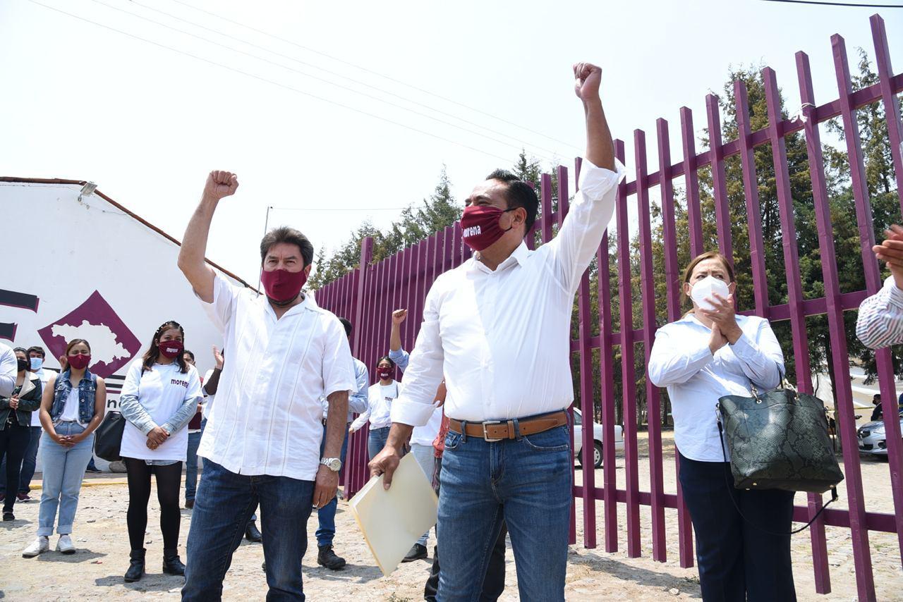 Jorge Corichi fue registrado en el ITE como candidato de MORENA a la presidencia municipal de Tlaxcala