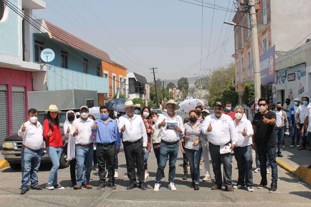 SAGA visitó Panotla con propuestas que cambiarán la historia de Tlaxcala