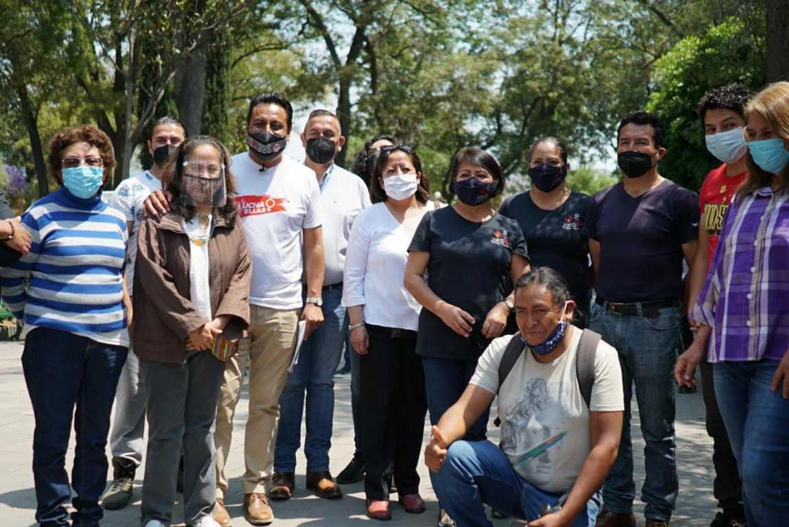 """""""SAGA"""" se reúne con artistas pintores de Tlaxcala"""
