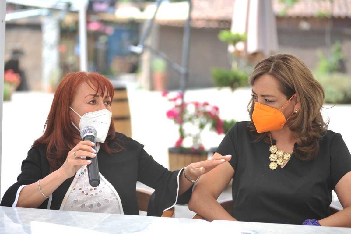 Gasolineros de Tlaxcala reconocen en Eréndira Jiménez gran perfil para gobernar