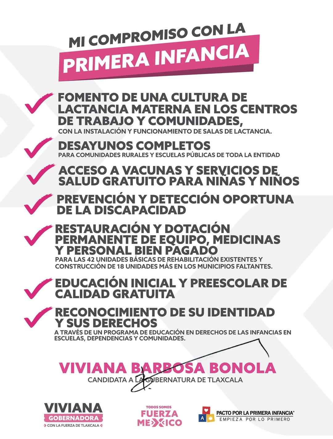 Viviana Barbosa desea a los niñ@s de Tlaxcala que disfruten hoy de su día