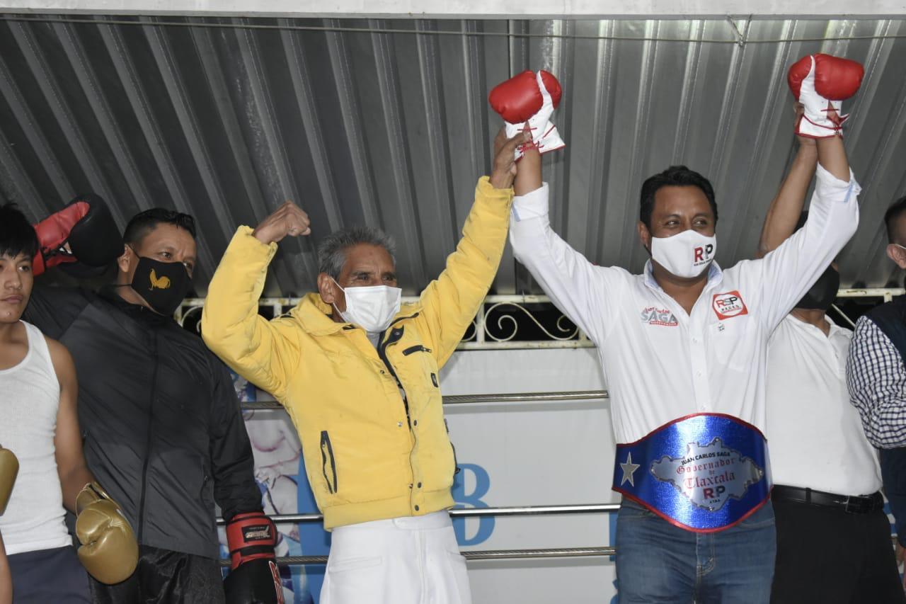 SAGA se reúne con jóvenes promesas del boxeo