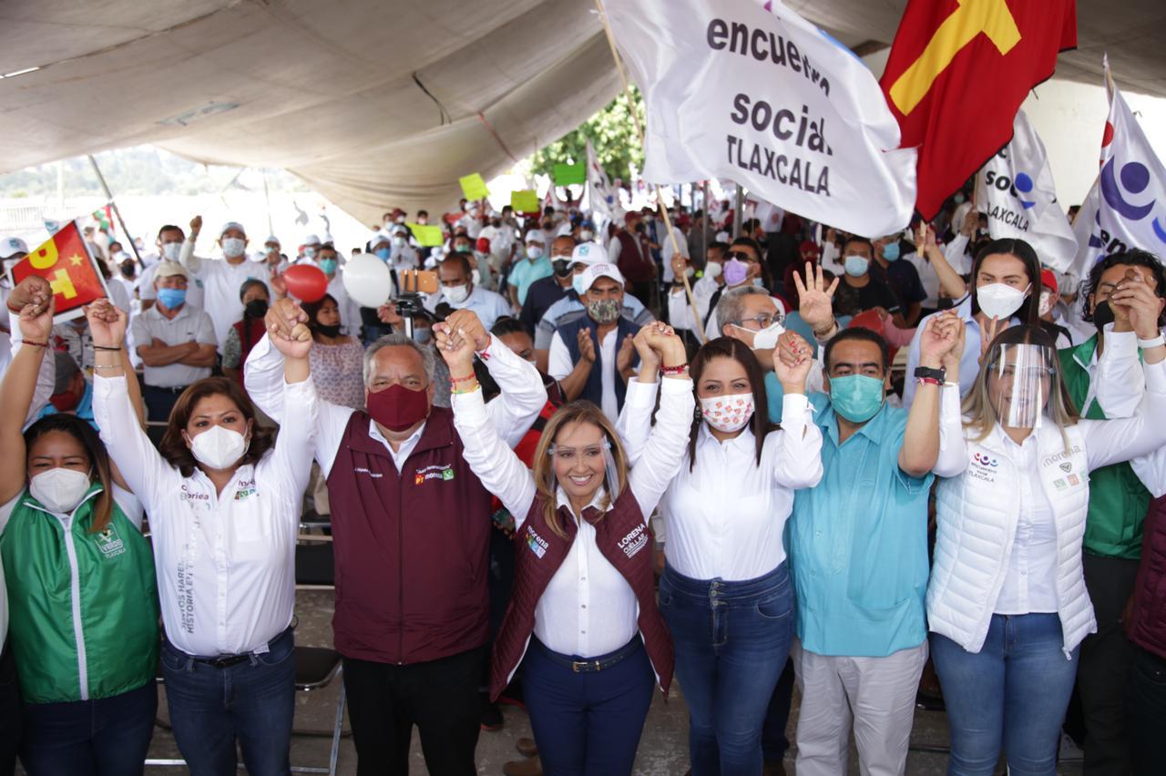 Llegó la hora de cambiar la historia de Tlaxcala: LCC