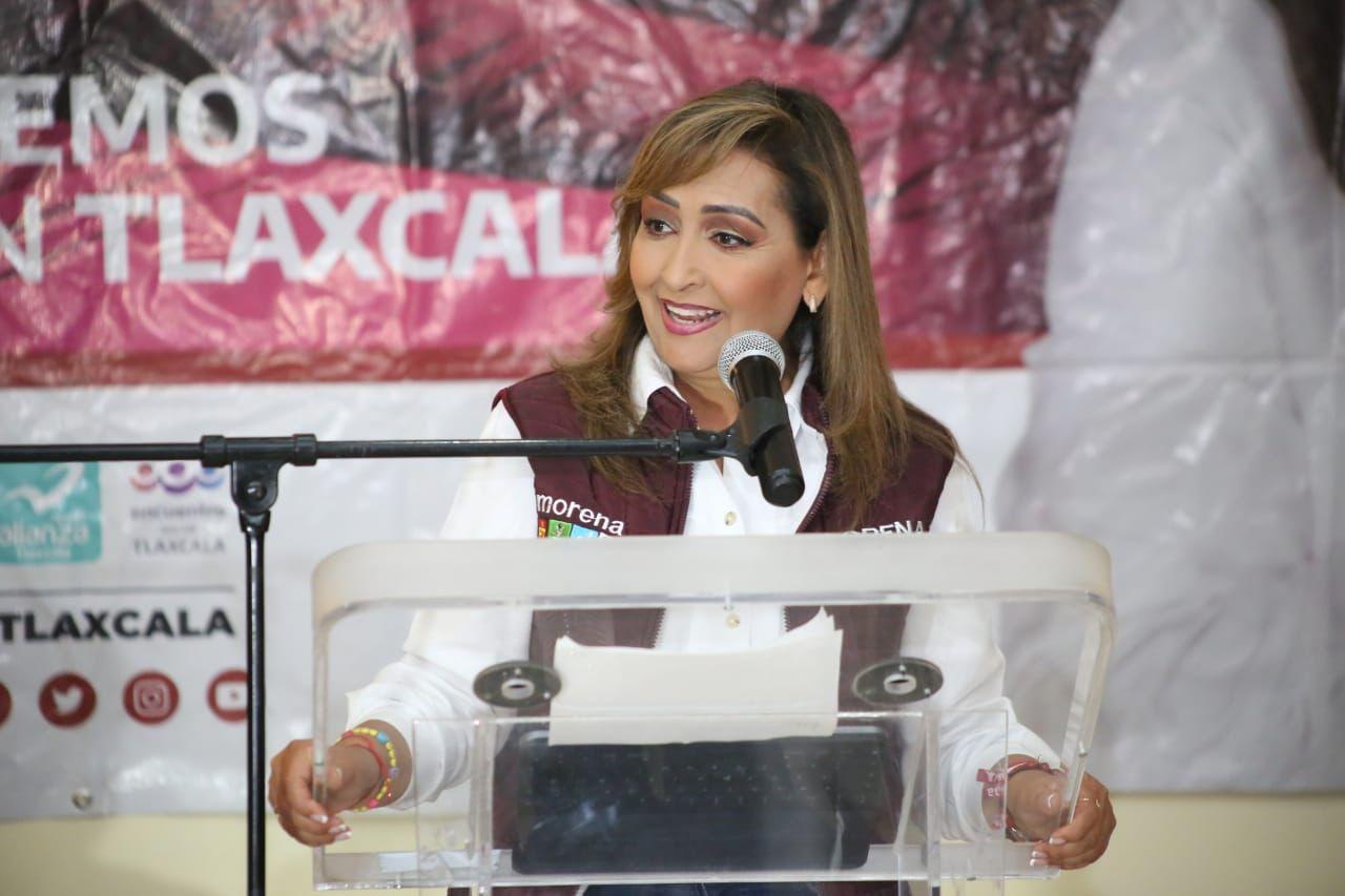 El 6 de junio ganaremos de forma contundente; no habrá necesidad de judicializar la elección: Lorena Cuéllar