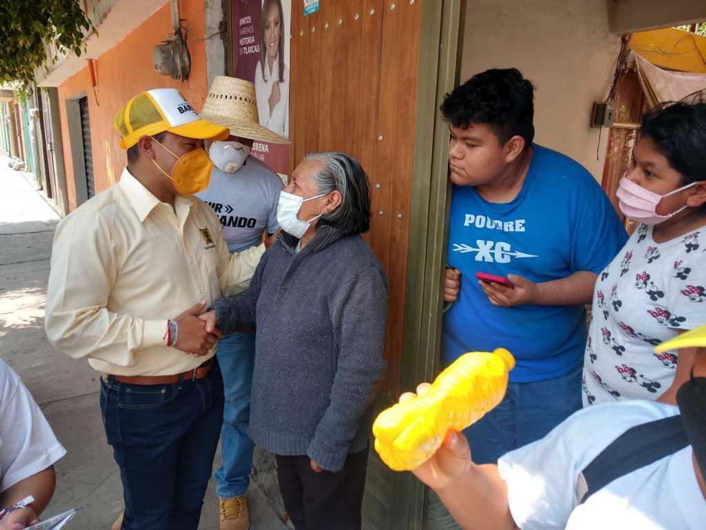 Compromete desarrollo y modernidad Luis Ángel Barroso en Xicohtzinco