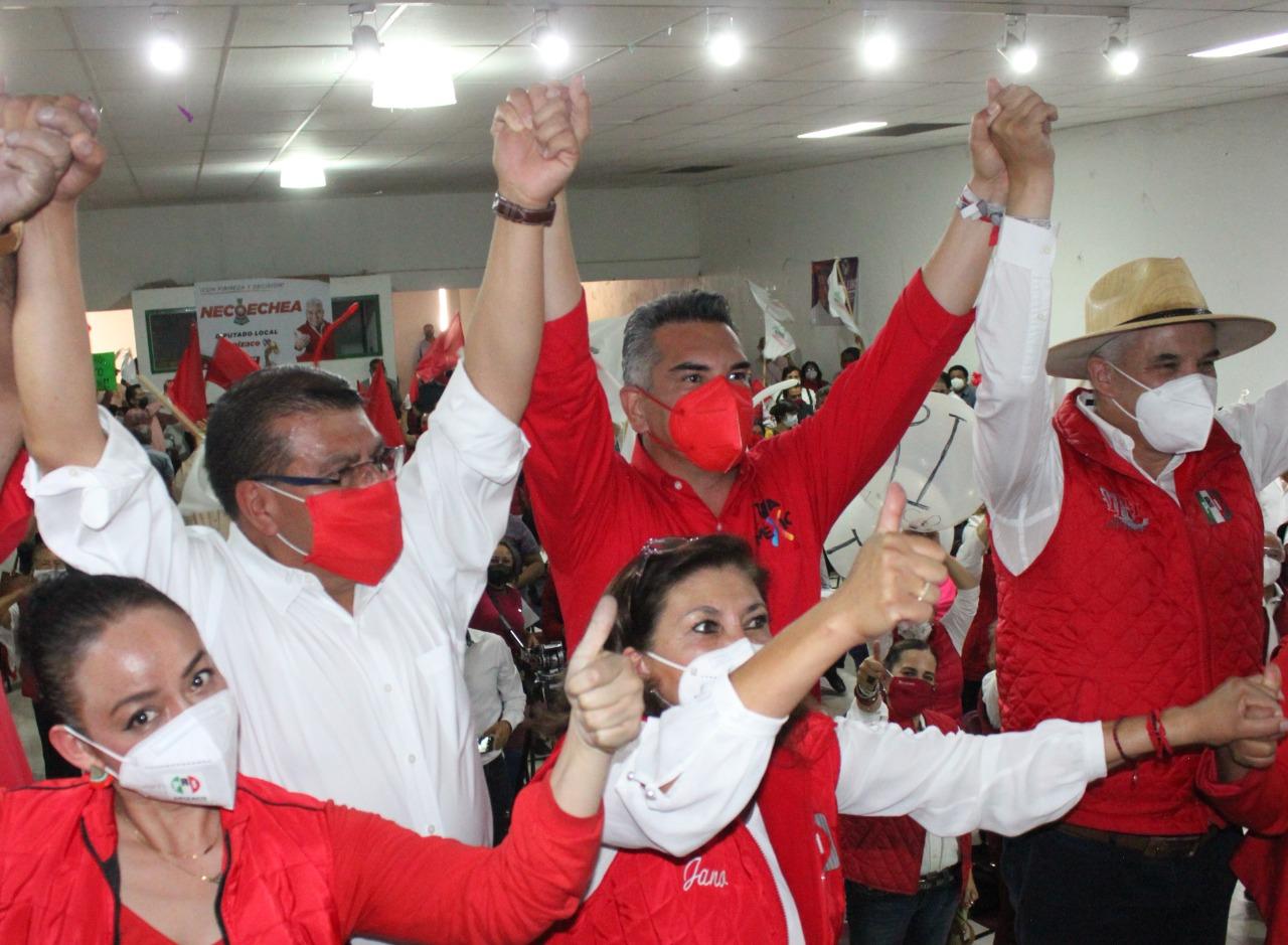 En esta elección pondremos un alto al abuso, la prepotencia y a la corrupción: Ramírez Conde