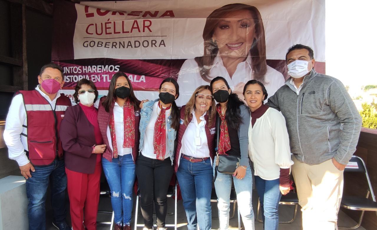 Ciudadanos de la capital se inclinan por el proyecto de Lorena Cuellar