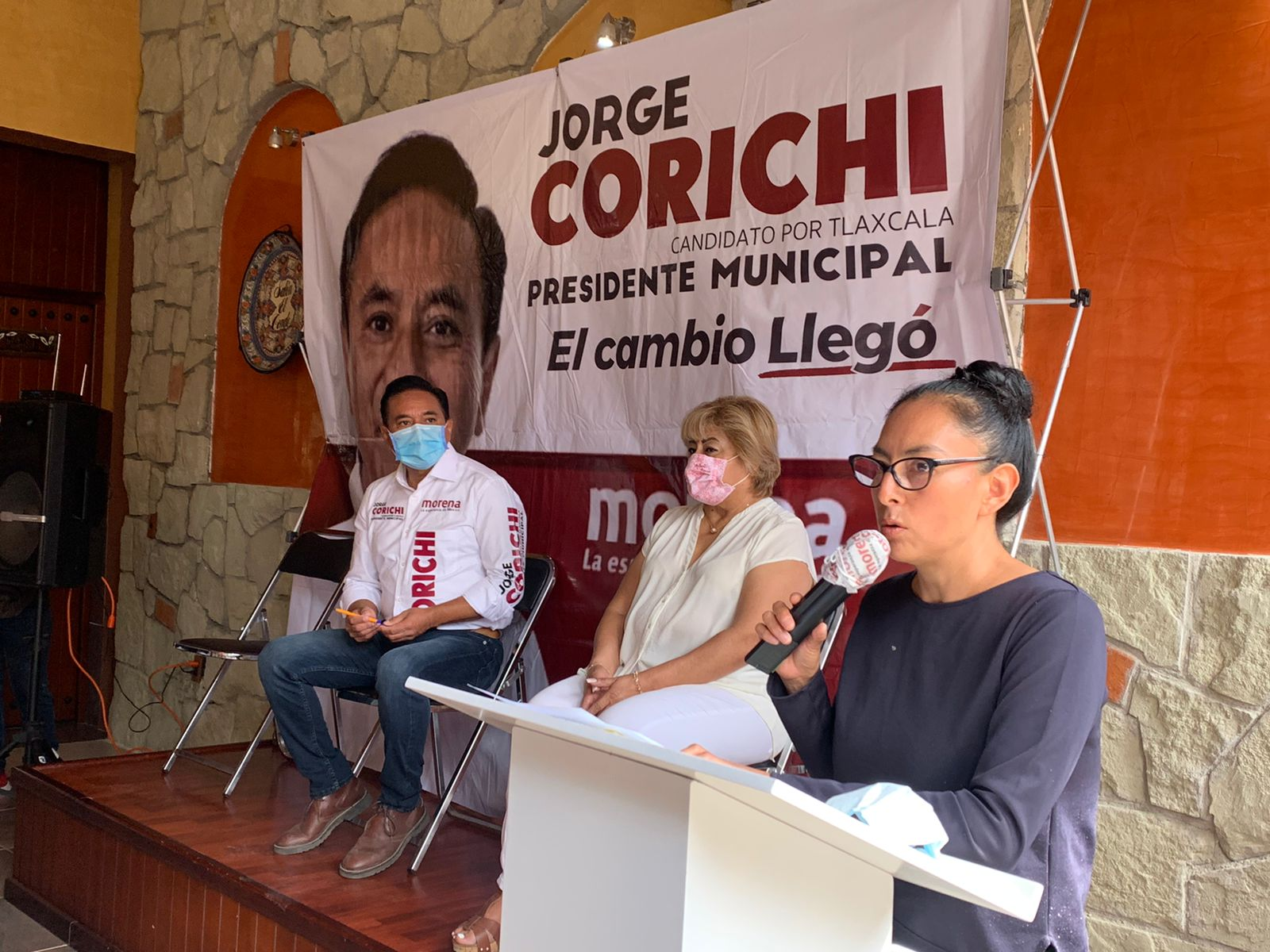Jorge Corichi va a empoderar a mujeres de Tlaxcala