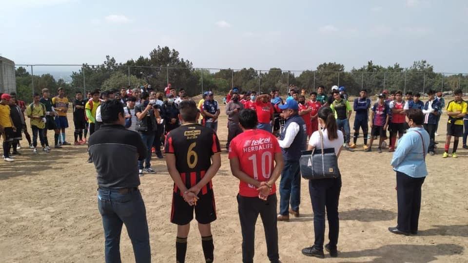 Se suman al proyecto de Ángelo Gutiérrez en Apetatitlán deportistas de Belén