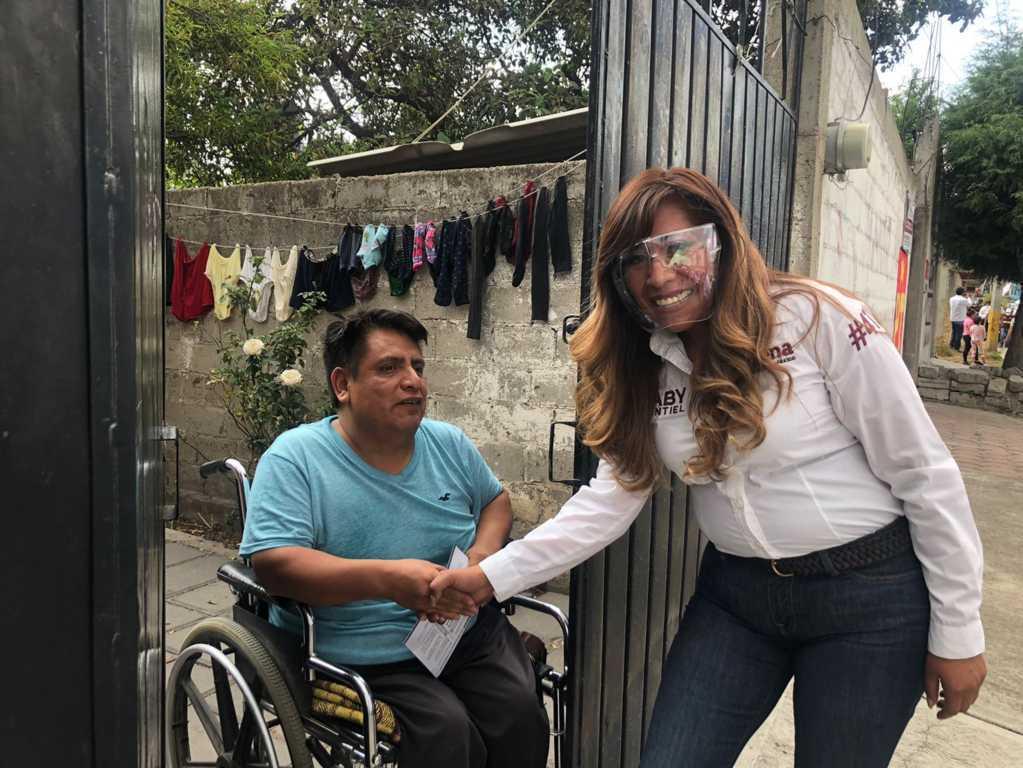 Arranca campaña Gabriela Hernández Montiel para presidenta municipal de Axocomanitla