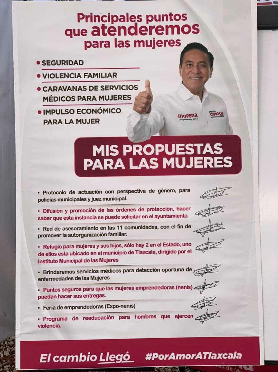 Mensaje de Jorge Corichi en rueda de prensa