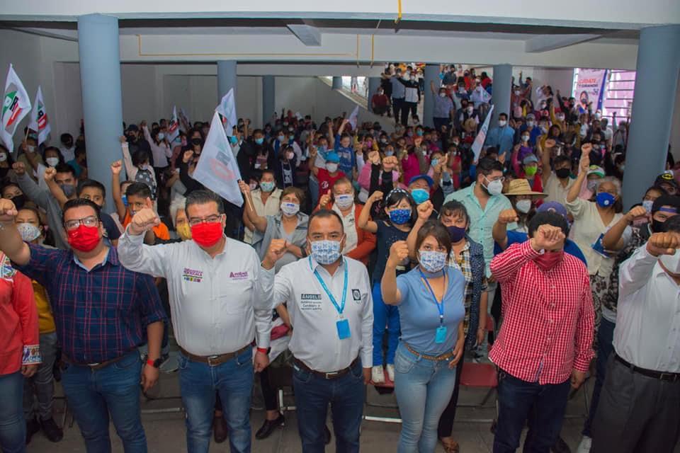 Se adhiere el PRI, van con Ángelo Gutiérrez en Apetatitlán