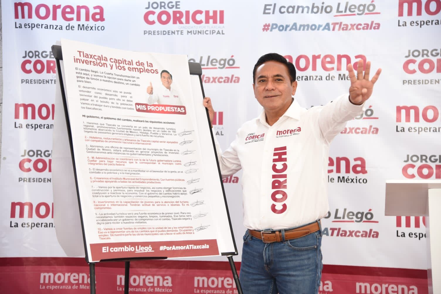 Jorge Corichi proyecta a Tlaxcala como capital de inversión y empleo