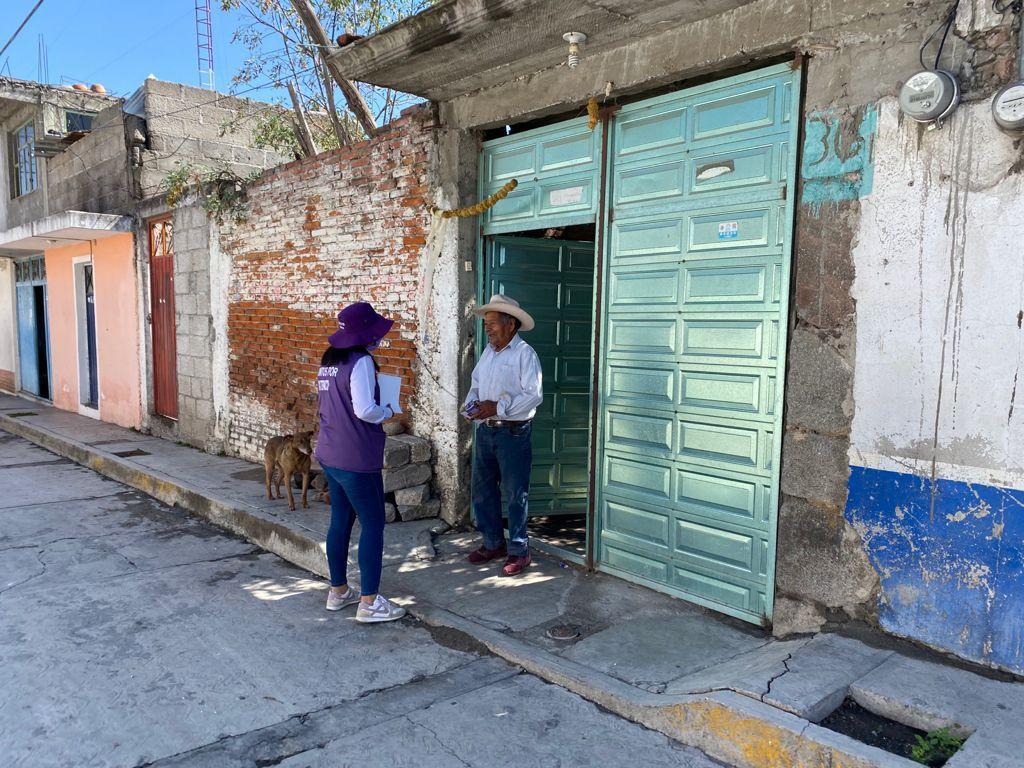 Cuatro compromisos por la economía, ofrece Leticia Téllez en Ixtenco