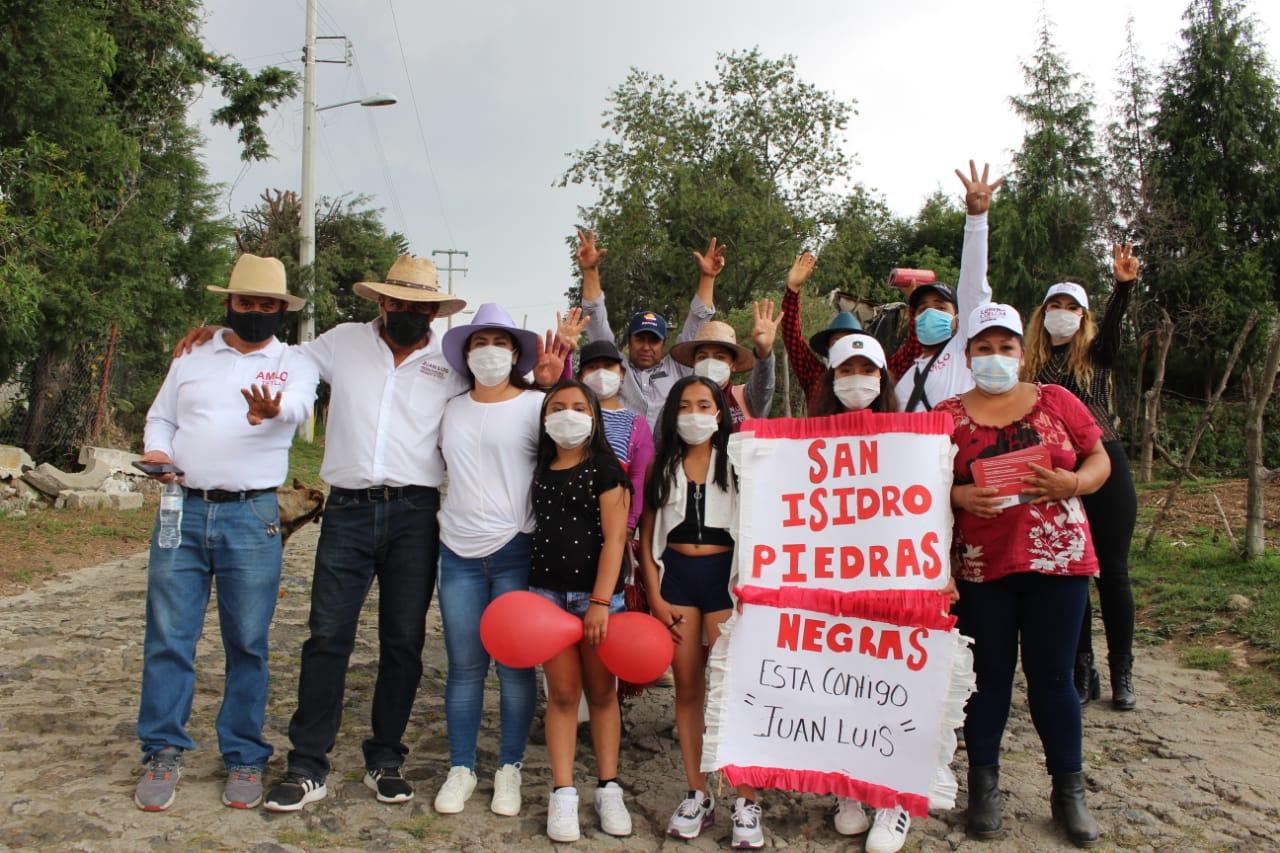 Suma Juan Luis Hernández, más ciudadanos a su proyecto de gobierno para Tetla