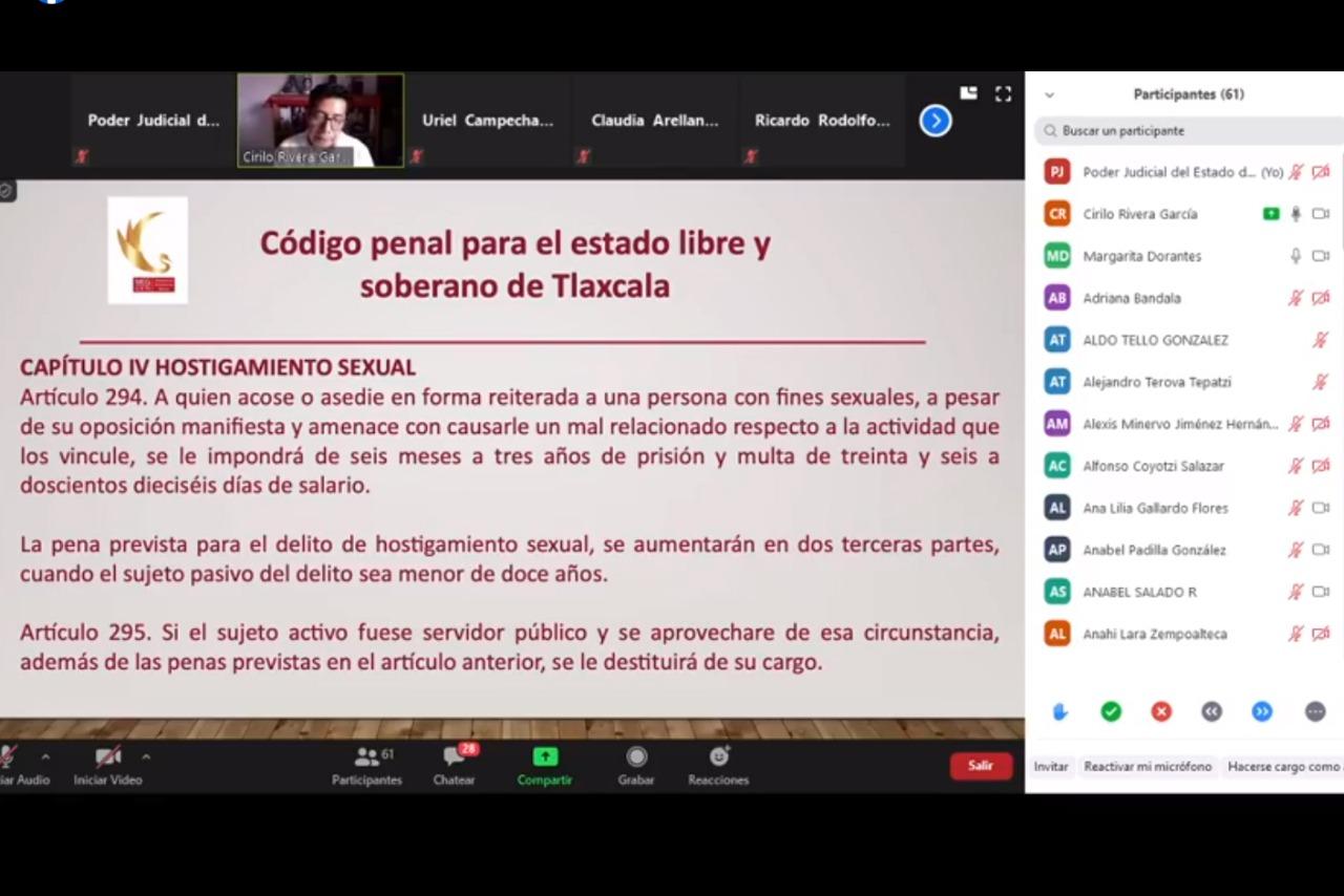 Debe existir una transformación cultural para erradicar acoso sexual: Rivera García