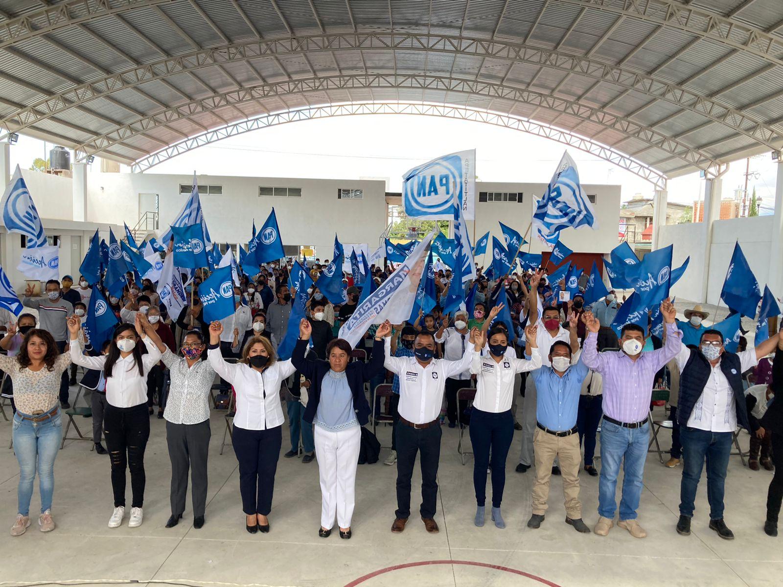 Cierra con fuerza su campaña Margarita López Armas candidata del PAN