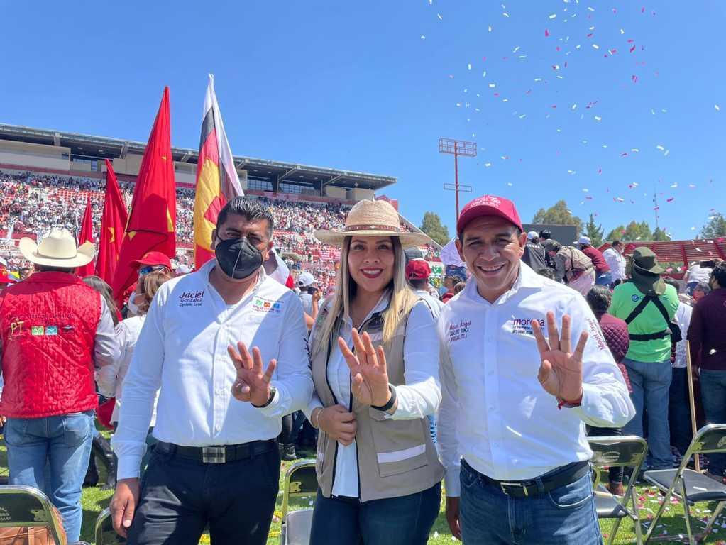 Miguel Ángel Caballero Yonca triunfarán el 6 de junio, Tlaxcala va con la 4T