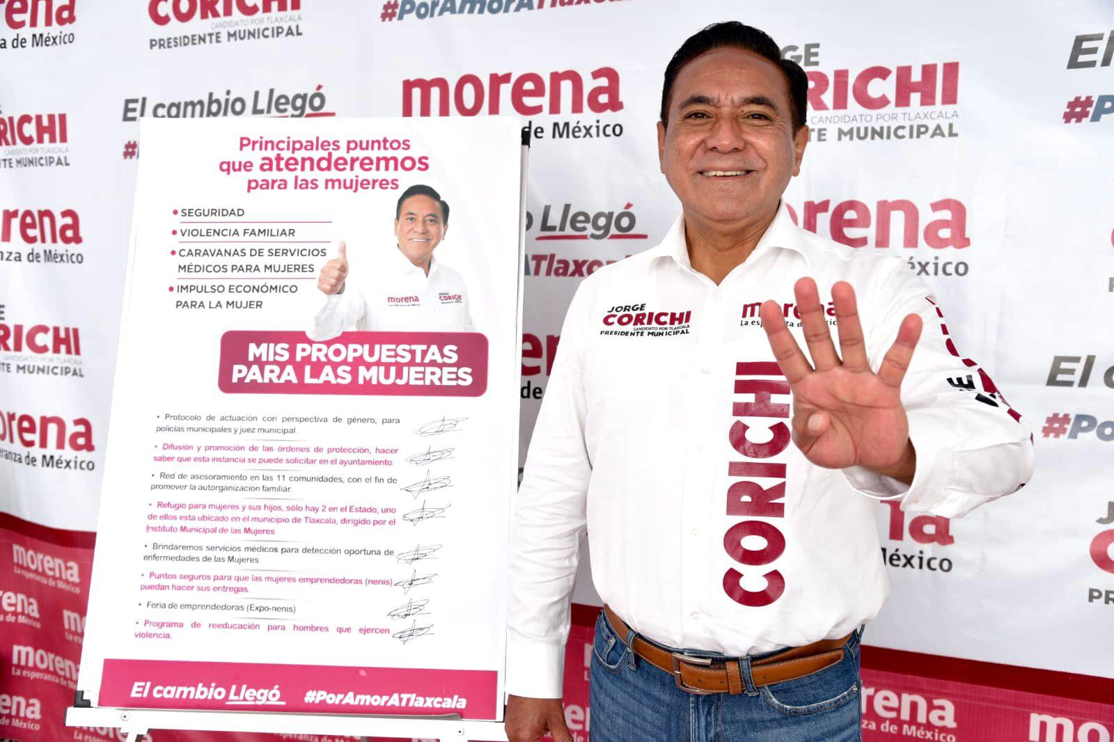 Encabezaré un gobierno de soluciones: Jorge Corichi