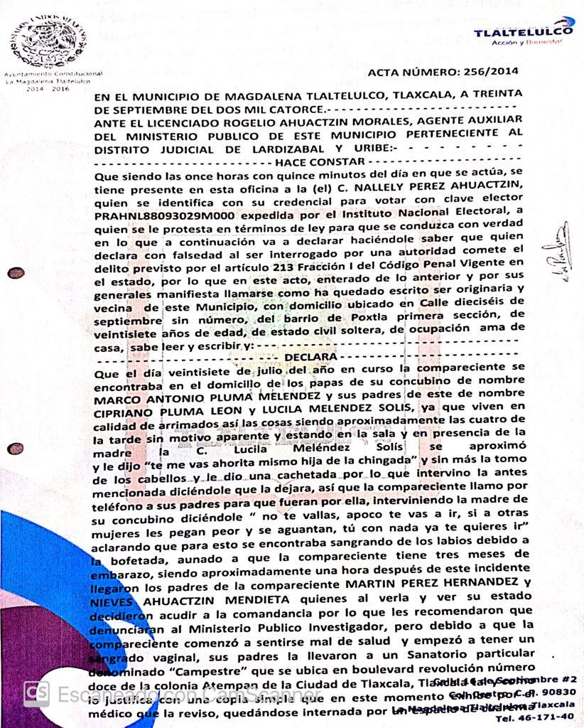 Candidato del Partido Verde en Tlaltelulco fue denunciado por violencia doméstica
