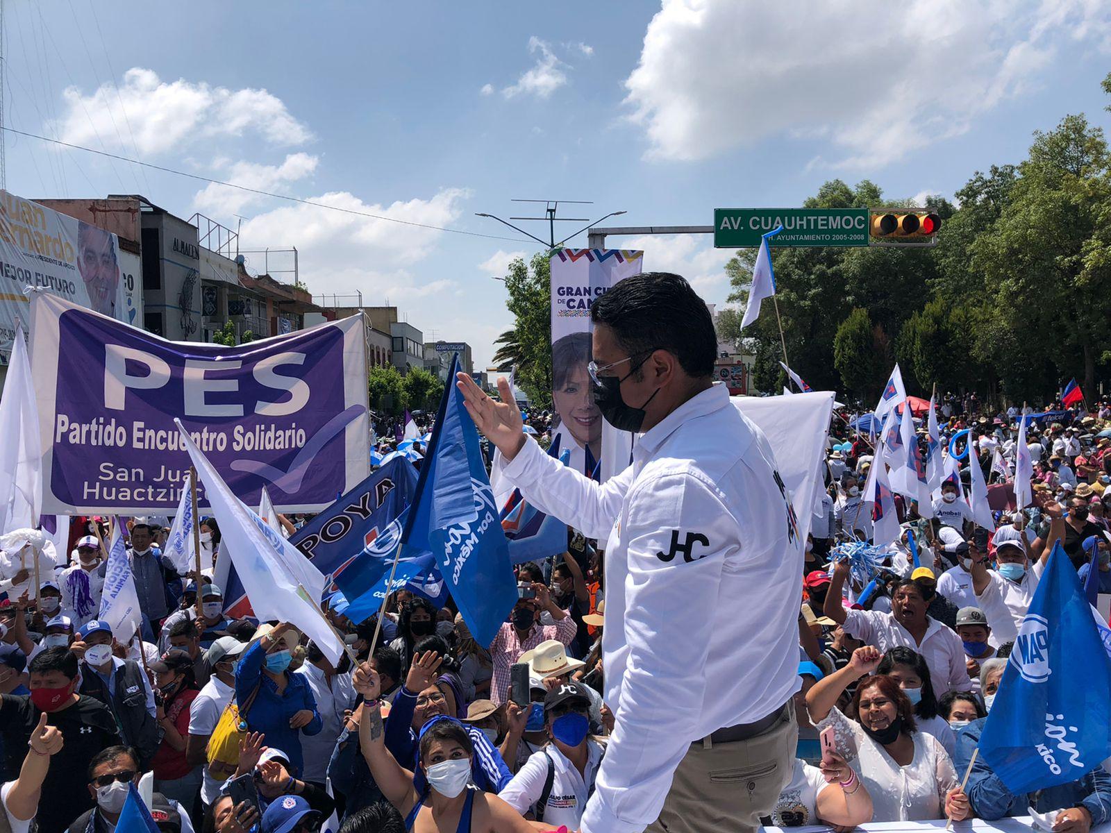 """""""México está herido y con representantes ausentes, cambiemos la historia"""": Julio César Hernández"""